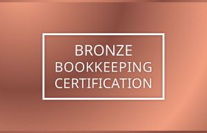 Bronze Bookkeeping Certification Course Canada