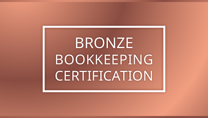 Bronze Online Canadian Bookkeeping Certification Course