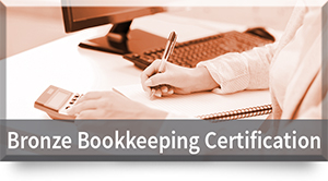 Bronze Online Bookkeeping Certification
